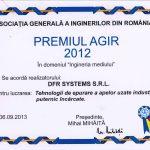 Premiul AGIR 2012