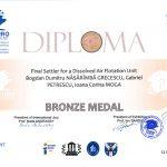 Medalia de bronz EUROINVENT 2012