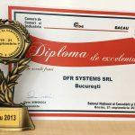 Medalia de aur și Diploma de Excelență SNCI 2013
