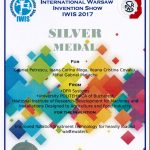 Medalia de argint IWIS 2017