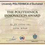 Premiul pentru inovație Politehnica 2017