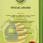 Malaysian Research & Innovation Society Special Award 2017