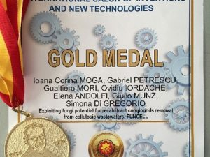 Gold medal at INOVAMAK 2018 Salon