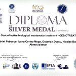 Medalia de argint – EUROINVENT 2018