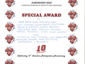 Special Award – European Exhibition of Creativity and Innovation 2019