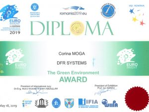 THE GREEN ENVIRONMENT AWARD – European Exhibition of Creativity and Innovation 2019