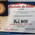 Medalia de bronz – UGAL INVENT 2019