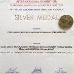 Medalia de argint – INVENT ARENA 2018