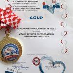 Medalia de aur – INOVA 2018