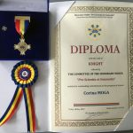 Diploma with the rank of KNIGHT – European Exhibition of Creativity and Innovation 2019