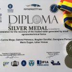 Medalia de argint – EUROINVENT 2019