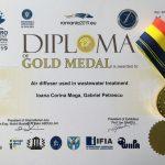 Medalia de aur – EUROINVENT 2019